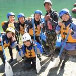 Yoshinogawa rafting