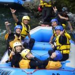 7月25日 吉野川ラフティングだよー!!!