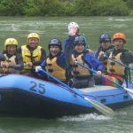 6月30日 吉野川ラフティング 増水の旅
