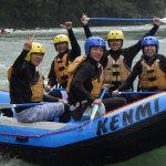 9月15日 吉野川をKENMIラフティングで楽しむ!!