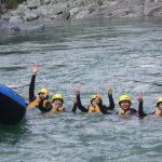 9月17日 大歩危峡見学つきKENMIラフティングツアー